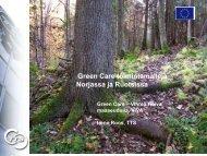 Green Care toimintamalleja Norjassa ja Ruotsissa - Socom