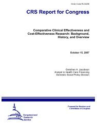 Cost-Effectiveness Research: Background, History, and Overview