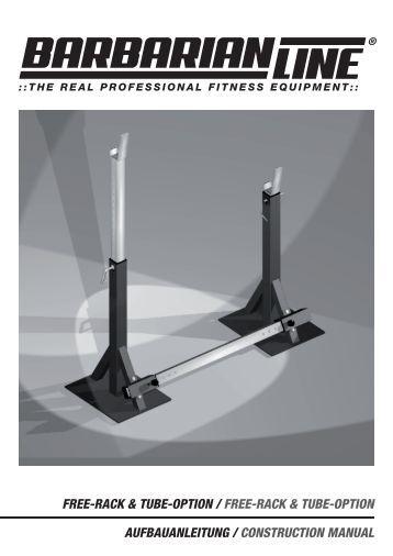 free-rack & tube-option / free-rack & tube-option ... - Megafitness-Shop