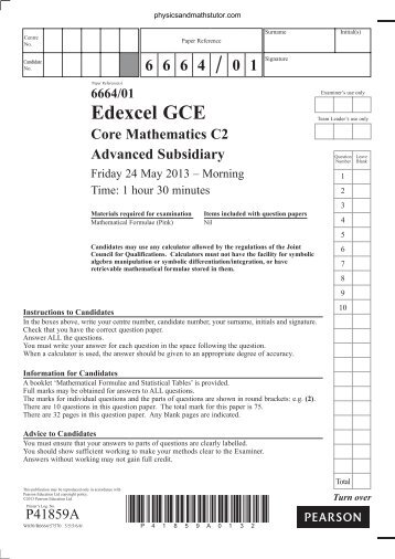 oce advanced subsidiary gce The general certificate of education (gce) advanced level, or a level, is a main (edexcel, aqa and ocr) regulated and accredited by the government of the united.