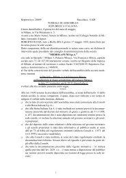 Verbale di asemblea ed allegati - Mediolanum SpA