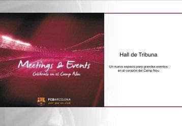 Hall de Tribuna - FC Barcelona
