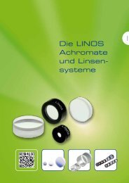10-Achromate und Linsensysteme.pdf - Qioptiq Q-Shop