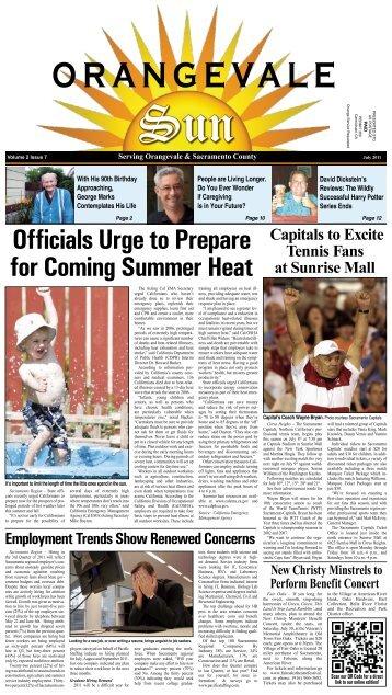 Volume 2 Issue 7 - July, 2011 - Orangevale Sun