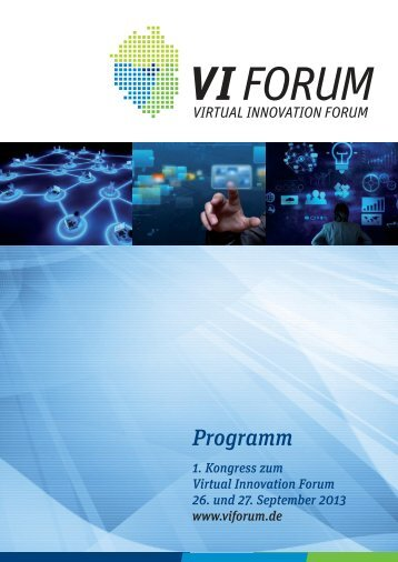 Programm - Virtual Innovation Forum