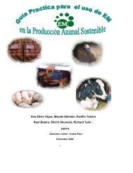 Guia para Producción Animal Sostenible con EM - EM | Effective ...