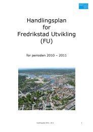 Handlingsplan 2010 - 2011 - Fredrikstad 2015