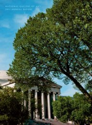2011 Annual Report - National Gallery of Art
