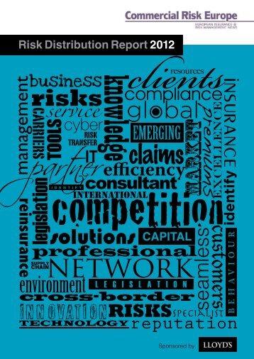 Risk Distribution Report 2012 - European Risk Insurance ...