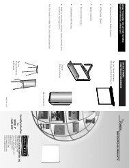Model B CSR Inst.pdf - AVsuperstore.com