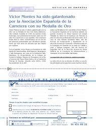 Víctor Montes ha sido galardonado por la Asociación Española de ...