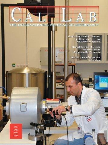 the international journal of metrology - Cal Lab Magazine