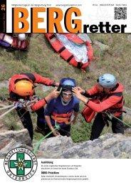 Aktueller BERGretter Tirol Nr. 26 - Österreichischer Bergrettungsdienst