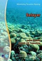 monitoring kesehatan terumbu karang kabupaten selayar ... - coremap
