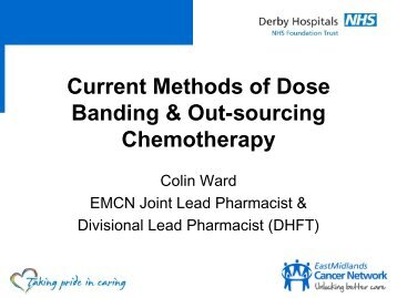 Current issues in dose banding : Geoff Hall and - BOPA