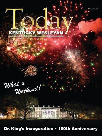 0032_KWTODAYFALL2008A:Layout 1 - Kentucky Wesleyan College