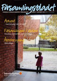 Församlingsbladet 2011-11-29 - Mild Media