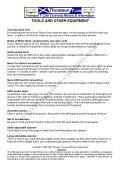 Caravan Toolbox SPARES - Thomson Caravans - Page 2