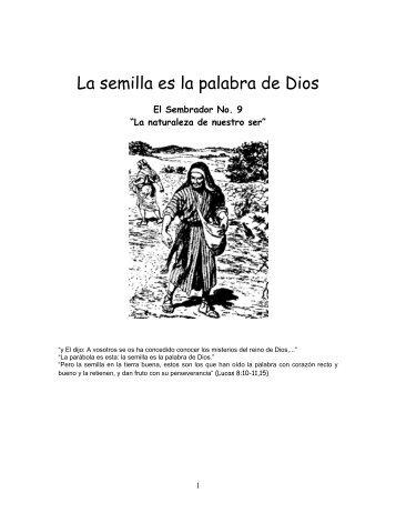 La naturaleza de nuestro ser.pdf - IGLESIA DE CRISTO - Ministerios ...