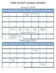 2013-14 School Calendar - York County Schools - Page 4