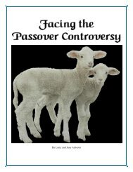 Facing the Passover Controversy.pdf - Ponderscripture.org