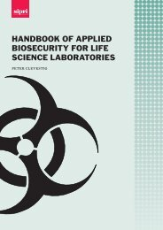 Handbook of Applied Biosecurity for Life Science Laboratories