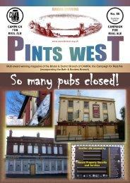 Pints West 86, Summer 2010 - Bristol & District CAMRA