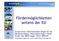 Sturm_Vortrag Fördermöglichkeiten - Veranstaltungen