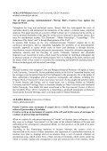 Abstracts - ALL - Associazione Laureati in Lingue - Università di Udine - Page 2