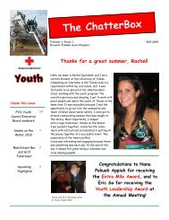 Youth Newsletter Issue 1.pub - American Red Cross