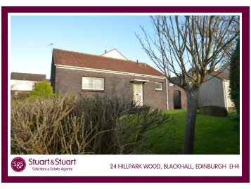 24 hillpark wood, blackhall, edinburgh eh4 - Stuart & Stuart