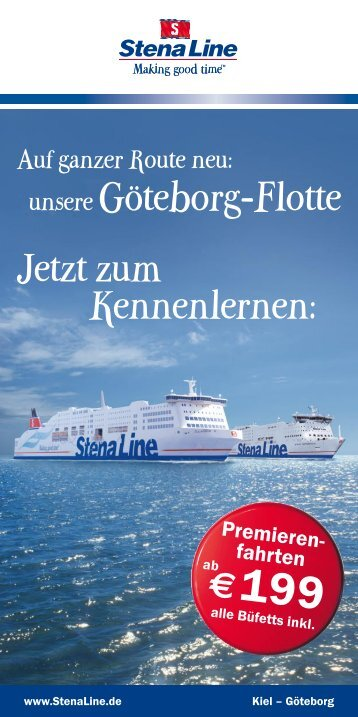 unsere Göteborg-Flotte Jetzt zum Kennenlernen: