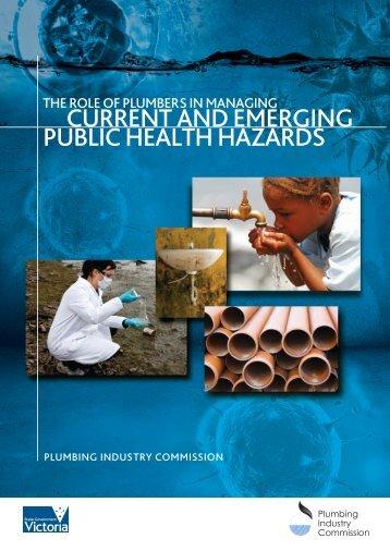 current and emerging public health hazards - Plumbing Industry ...