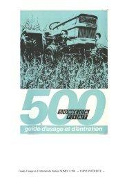 SOMECA 500 - Amicale des vieilles soupapes