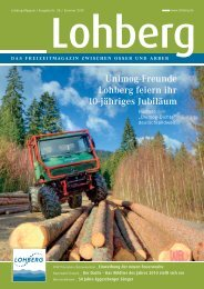 Unimog-Freunde Lohberg feiern ihr 10-jähriges Jubiläum