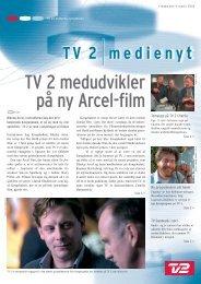 TV 2 medudvikler på ny Arcel-film