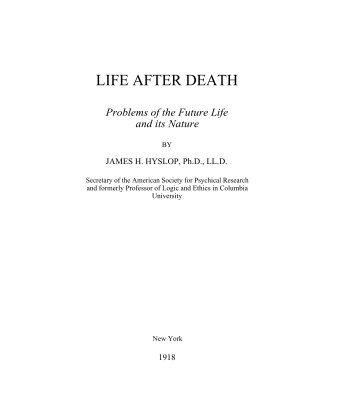 LIFE AFTER DEATH - SpiritWritings.com