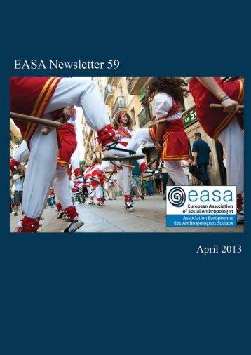 EASA Newsletter No 59 April 2013 - European Association of Social ...