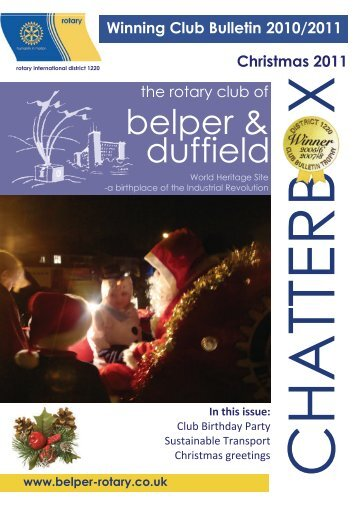 Chatterbox 1211 - Rotary Club of Belper