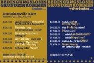 grundeinkommen - Décroissance Bern