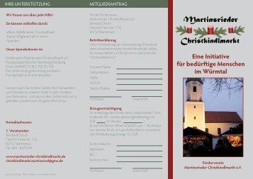 Informationsblatt - Wuermtal.Net