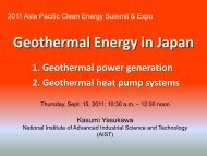 Geothermal Energy in Japan - Clean Technology and Sustainable ...