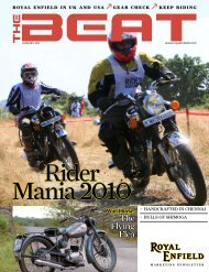 Jan 2011 - Royal Enfield