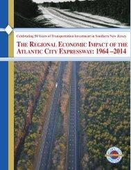 Celebrating 50 Years - The Regional Economic Impact of the ACE 1964-2014