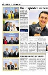 Artikel in der Südostschweiz vom 15. Juni 2013 - Kantonaler ...