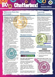 Student Services - Bexley College
