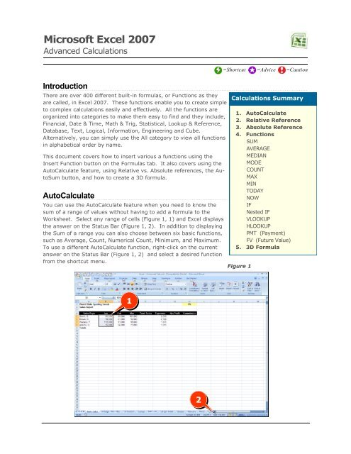 Advanced Calculations - Bard Blogs