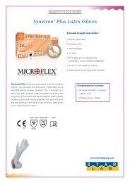 Synetron® Plus Latex Gloves