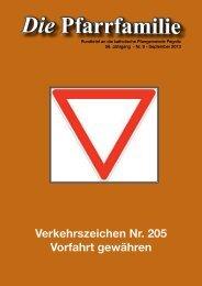 Pfarrfamilie 2013-9 (pdf, 8 MB) - Herz Jesu Pegnitz