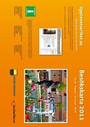 Besökskarta 2011Sävsjö V - upplevelseriket